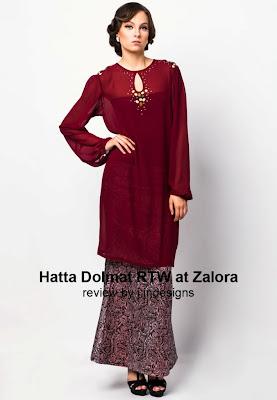 muslimah new design raya designer hatta dolmat