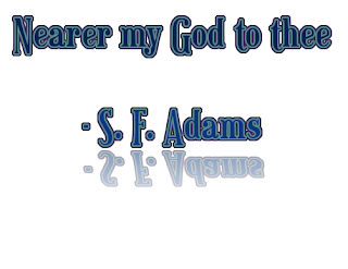 Tonic solfa of Nearer My God to Thee Solfa notation of nearer my God to Thee