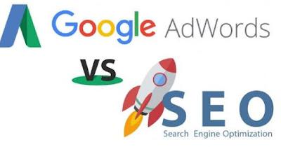 quảng cáo google và seo 1