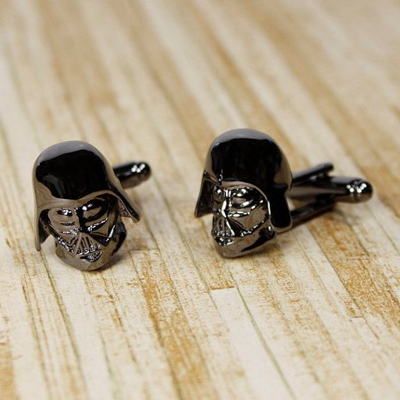 darth vader star wars cufflinks manschettenkn pfe atomlabor blog dein lifestyle blog. Black Bedroom Furniture Sets. Home Design Ideas