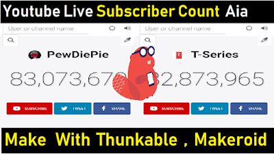 Top Aia File for Live Subscriber Count of YouTube | Applovin Aia
