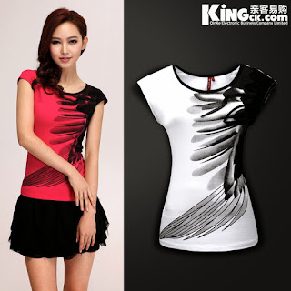 Fashionable shirt designs for women for T shirt design 2017