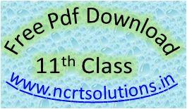 Class 11 PDF Free Download