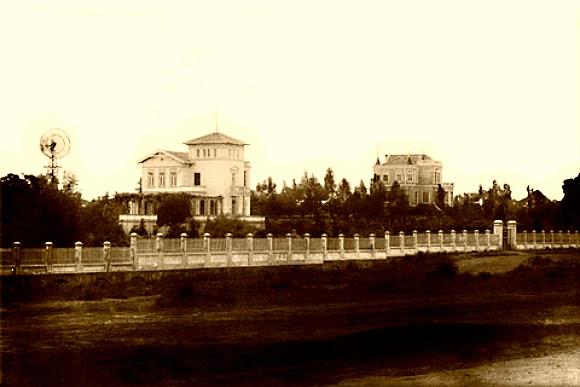 Casa de Alberto Bins, em 1897.