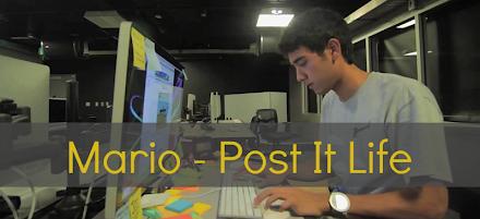 Super Mario - Post It Life    Ein Film aus 7000 Post It Haftnotizen