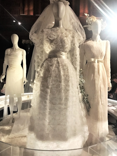 Chatsworth House Wedding Gowns Chatsworth House Style Exhibition #lbloggers #history #ChatsworthHouseStyle #Chatsworth