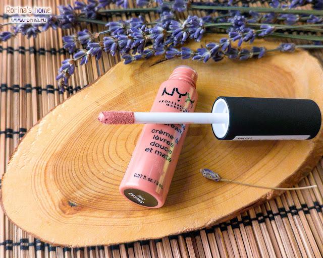 Купить NYX Soft Matte Lip Cream в оттенке CABO 62