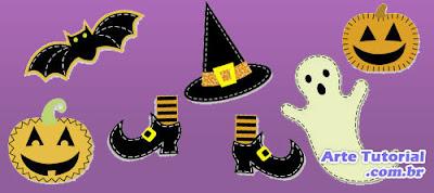 Artesanatos com tema de Halloween e dia das bruxas