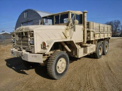 1984 AM General M923 Truck, Cargo, 5-ton, 6x6, with 14