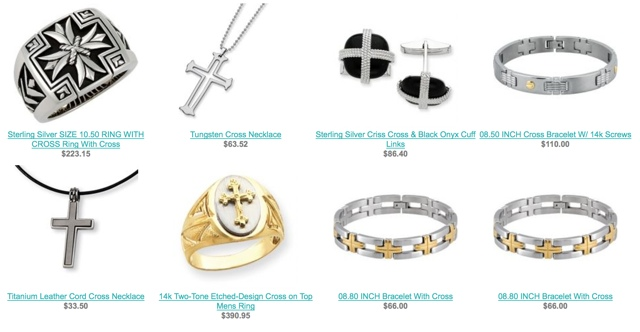 Religious Mens Jewelry