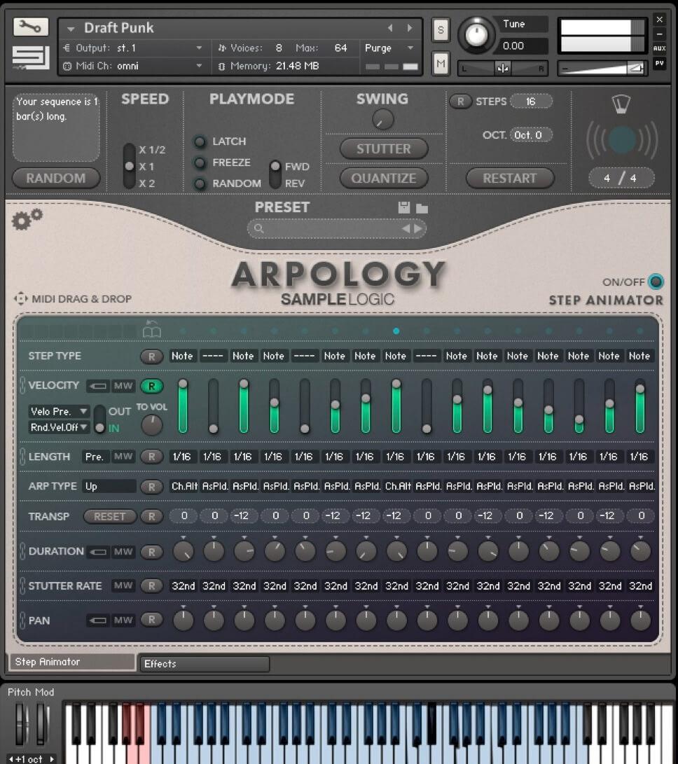 Sample Logic - ARPOLOGY KONTAKT Library free download