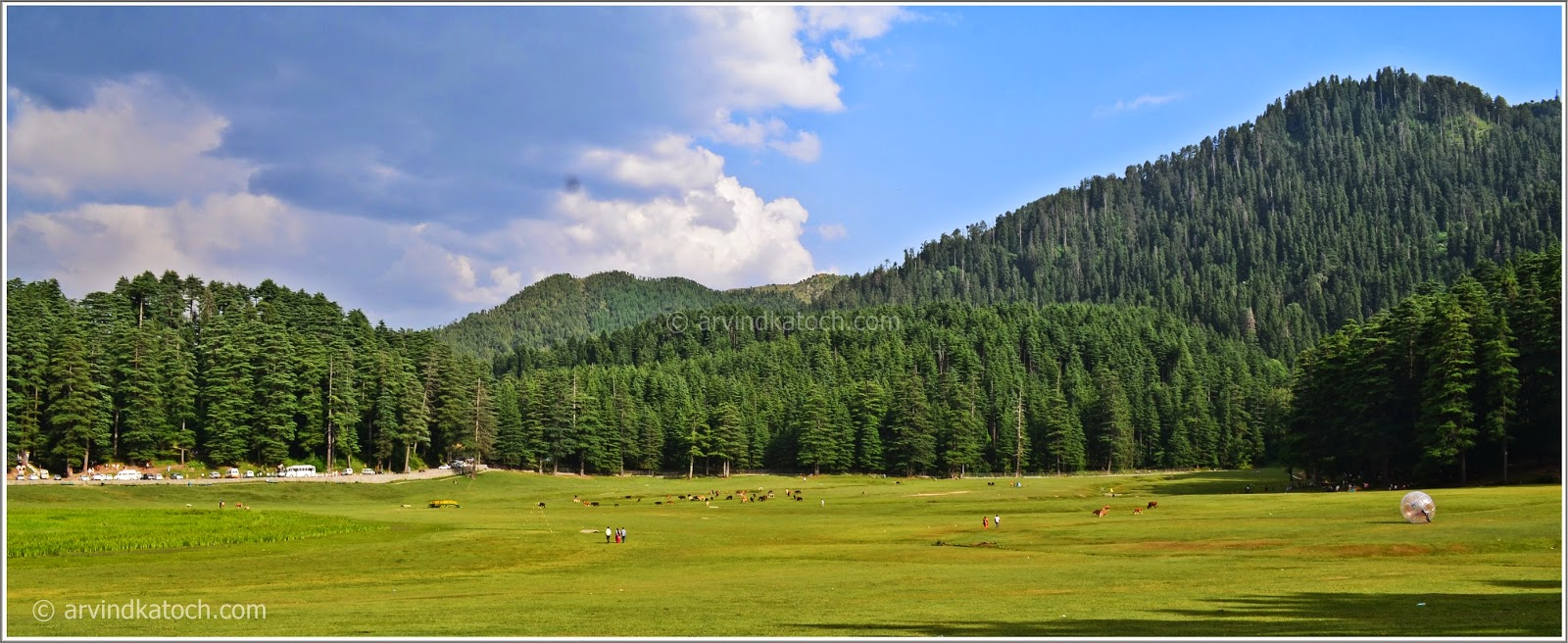 Chamba, Khajjiar, Green Ground, Mini-Switzerland,