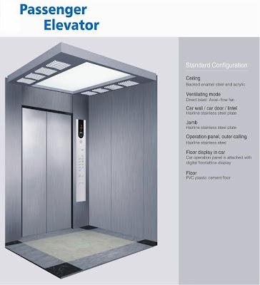 Mengenal Jenis Lift atau Elevator