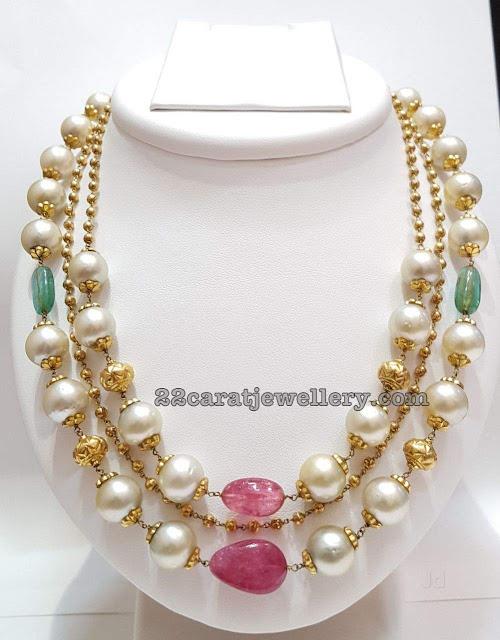 South Sea Pearls Small Beads Choker