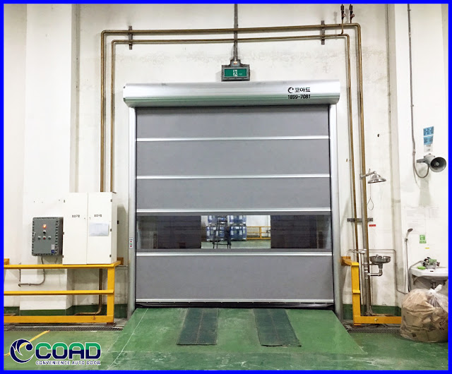 COAD, HIGH SPEED DOOR, RAPID DOOR, ROLLING DOOR, ROLL UP DOOR, KOREA, JAPAN, INDONESIA, MALAYSIA, THAILAND, VIETNAM