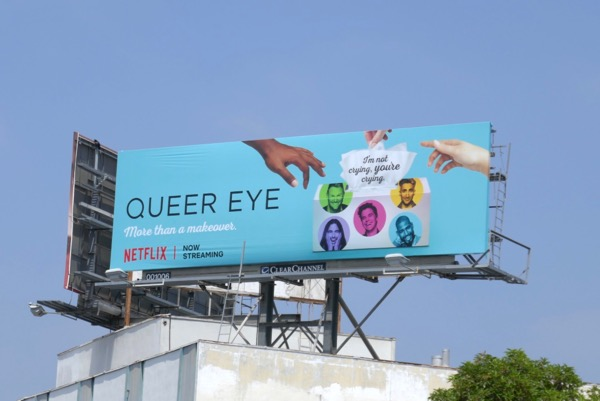 Queer Eye season 2 tissues billboard