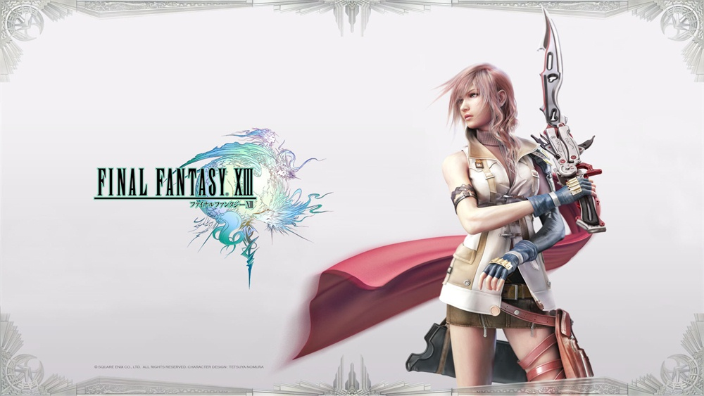 Final Fantasy XIII PC Download Poster