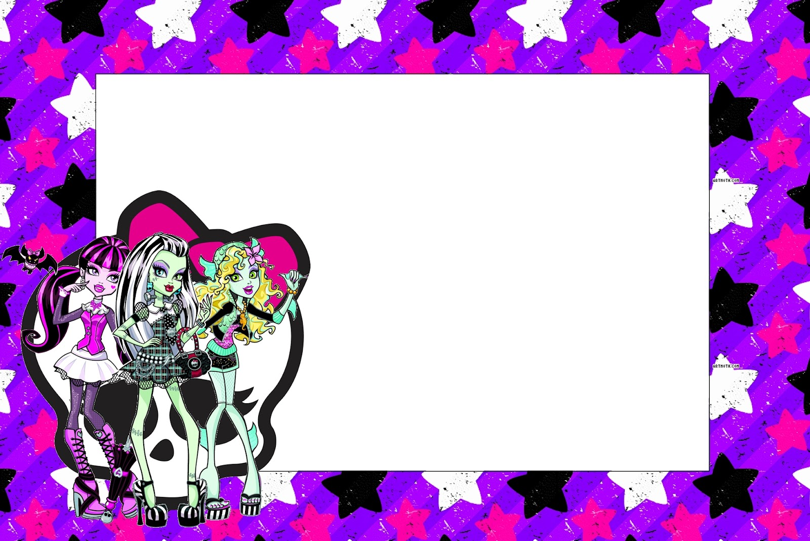 Monster High Free Printable Party Invitations Oh My