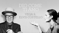 Vega y Elvis Costello versionan Dio come ti amo