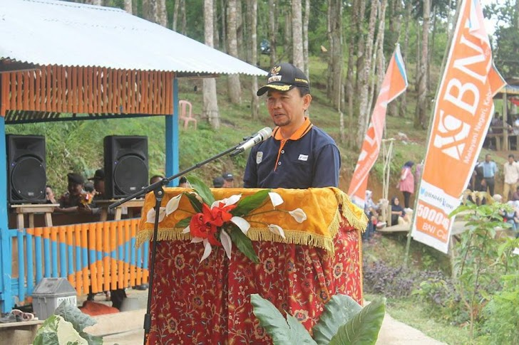 Bupati Kerinci Dampingi Plt Gubernur Panen Ikan dan Launching Penjualan Ikan Online