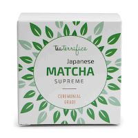 Teaterrifics ceremonial grade matcha green tea