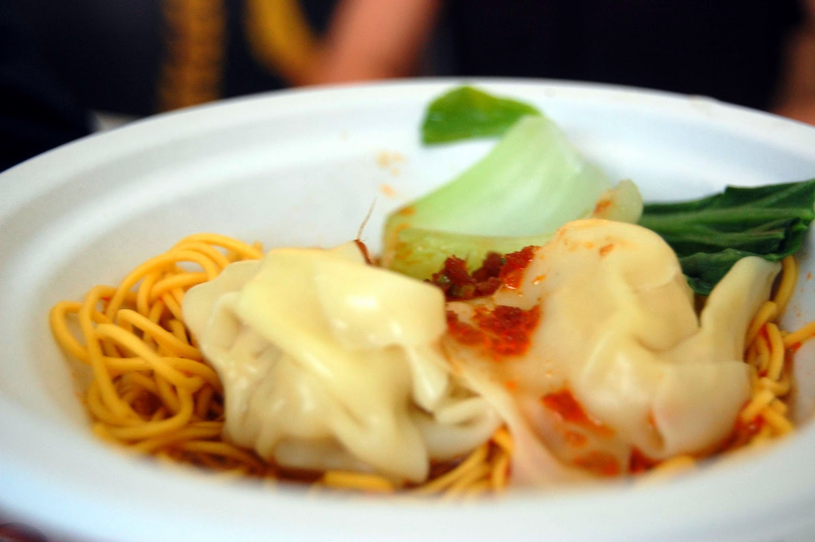 Stitch & Bear - Taste of Dublin 2014 - China Sichuan spicy dumplings