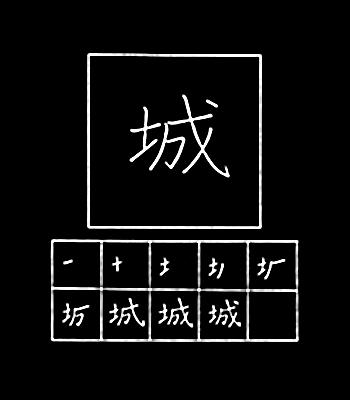 kanji castle