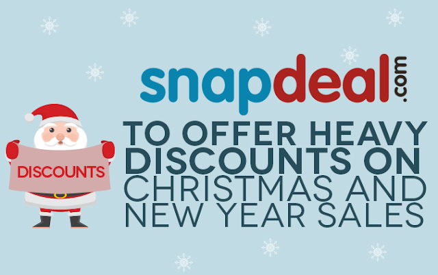 Snapdeal Christmas Offers, Deals, Coupons Dec 2016