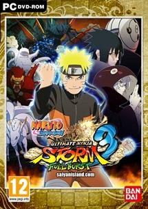 download Naruto Shippuden Ultimate Ninja Storm 3 Full Burst PC ISO