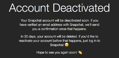 How to Delete Snapchat Account Link
