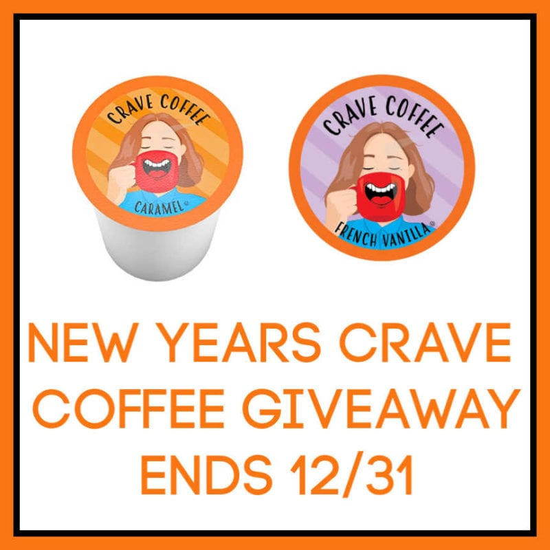 New Year's Crave Coffee Giveaway