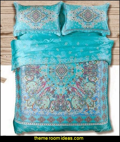 boho Bedding Set,bohemia Exotic Bedding Set