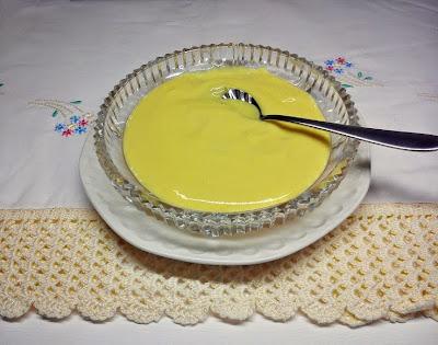 Crema de Limón con Yogur
