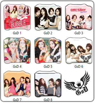 Folder Icon Girl's Day Windows