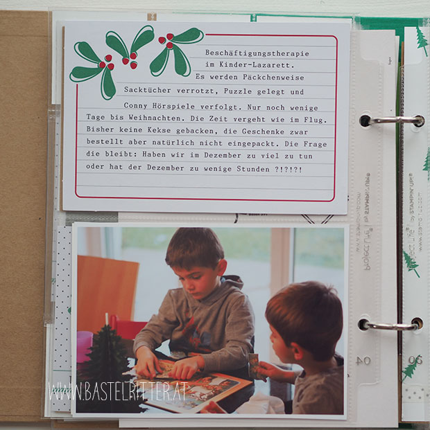 December Daily Stampin up Bastelritter