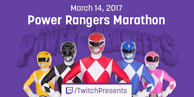 Twitch Presents Power Rangers Marathon Mighty Morphin Power Rangers