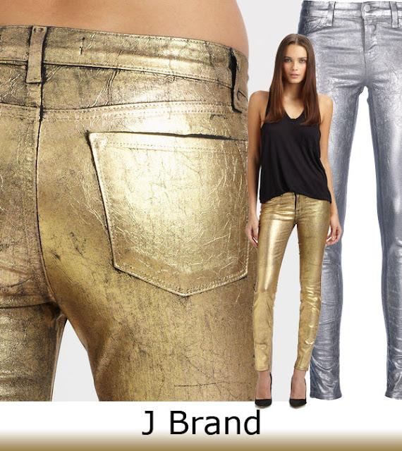 Spring Trend 2013 J Brand Metallic