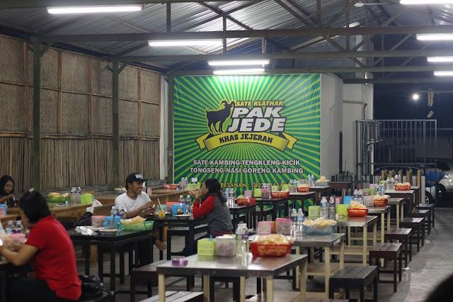Lokasi makan Pak Jede Khas Jejeran