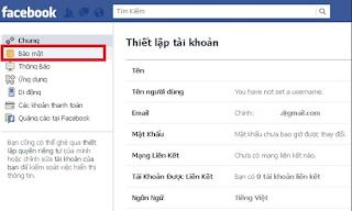 Cách bật thông báo khi có ai đăng nhập vào tài khoản Facebook của bạn
