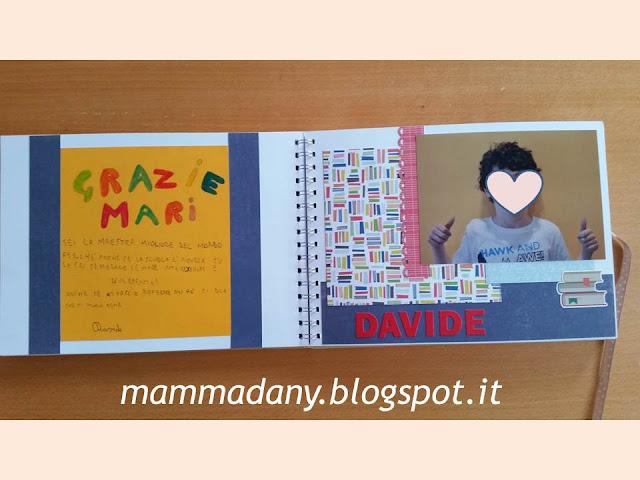 Album dei ricordi per le maestre pagine interne