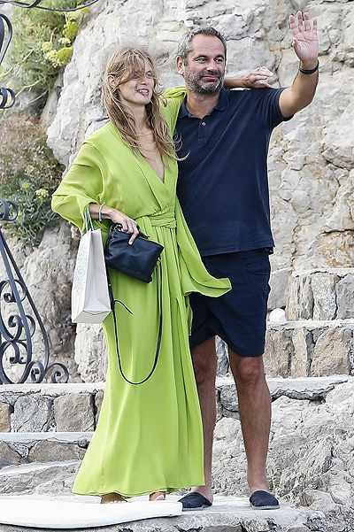 Kate Moss 's wedding Malgosia Bela in Italy