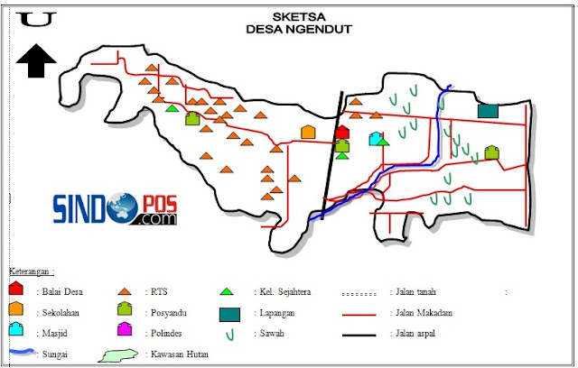 Profil Desa & Kelurahan, Desa Ngendut Kecamatan Balong Kabupaten Ponorogo
