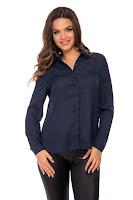 Camasa Jill Bleumarin • Bluze si Camasi