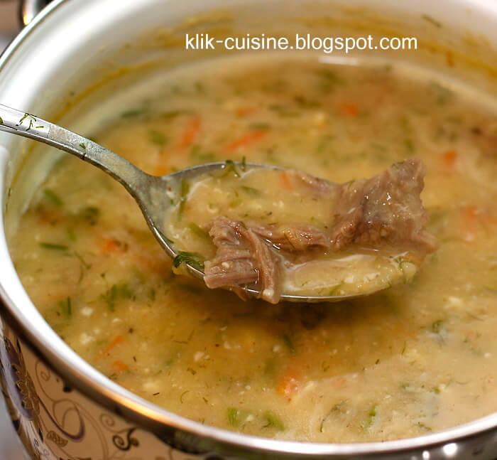 Согревающие супы