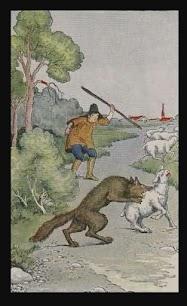 Dongeng Anak Penggembala dan Serigala