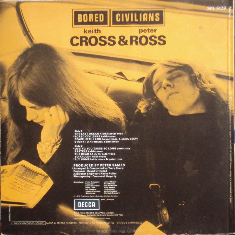 Album de Keith Cross despues de T2.