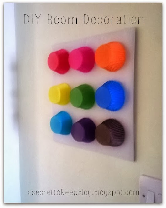 A Secret To Keep: DIY Room Decoration