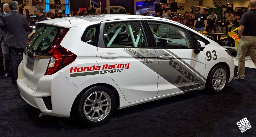 2015 Honda Fit HPD race car SEMA Show