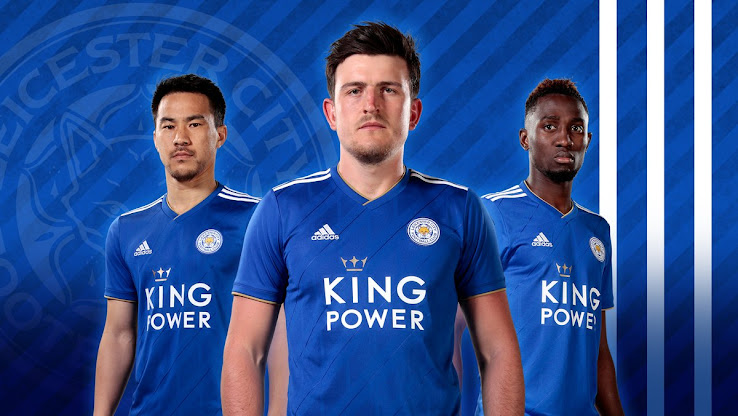 35e856168b9 The new Leicester City 18-19 home kit has been revealed today. It is made  for the first time by Adidas who are replacing current kit maker Puma.