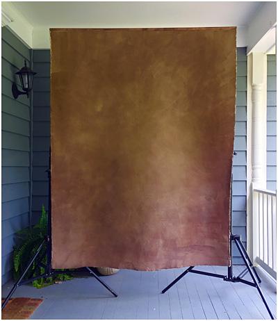 DIY: $10 Custom Wooden Backdrop Mount